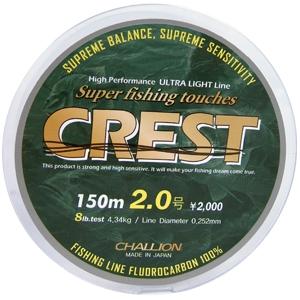 챌리온-CCL CREST 후로로카본 100%/크레스트/배스카본줄