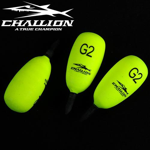 챌리온-스피드 목줄찌 SP2 CSP-2(옐로우)1개입