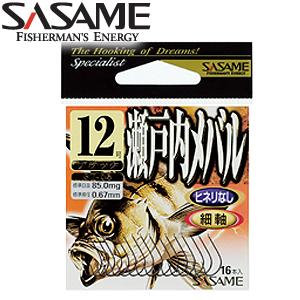 2사사메-ST-05-BK/세토우치 메바루 훅/볼락 바늘