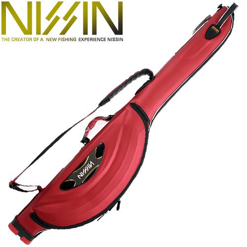 [재입고]7니신-NISSIN SEMI HARD ROD CASE RED / 세미 하드로드케이스 레드