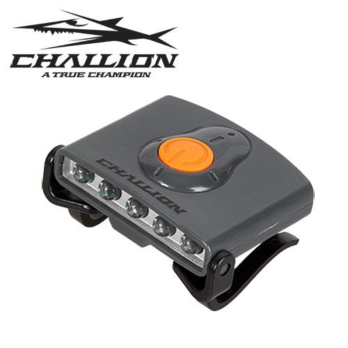 1챌리온- 캡라이트 CLL-02 / 초고휘도 LED 5구 / 모자에 장착 / 각도조절