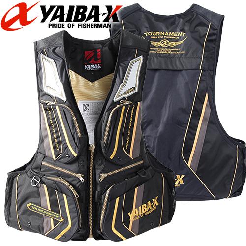 야이바-구명복 신형 YFV-4 / 토너먼트 신형구명복 블랙/