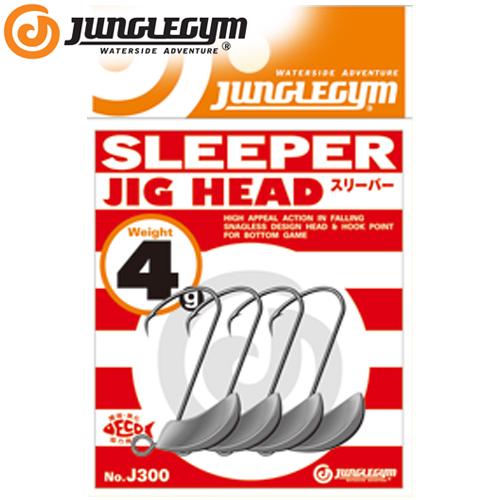 쟝글짐-J300 SLEEPER /쇼어 라이트 게임 슬리퍼 지그 헤드