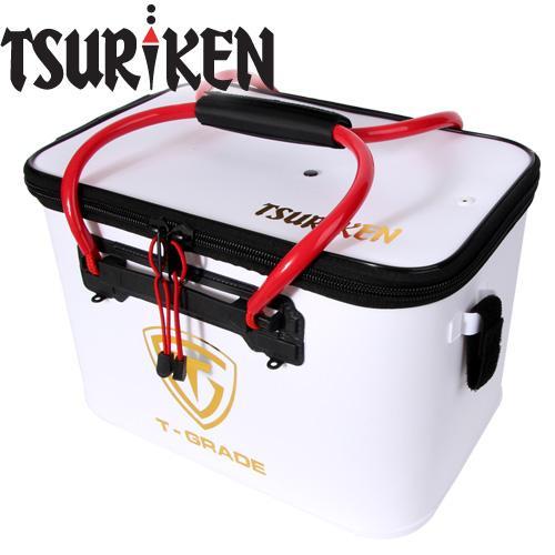 5쯔리켄-TB151 40CM 바칸 밑밥통 WH