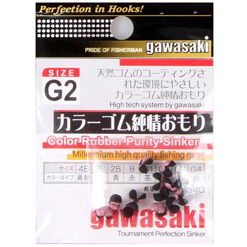 미래로-시스템C1칼라고무순정봉돌 / gawasaki 가와사키 컬러봉돌