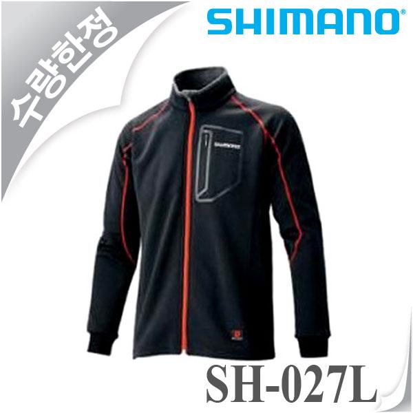 특가시마노-SH-027L/보온내피/낚시잠바/집업셔츠/낙시