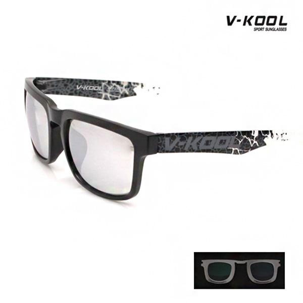 V-KOOL-VK-1995-블랙 스카이실버프린트/선글라스/도수
