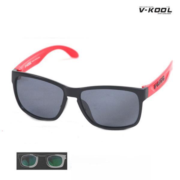 V-KOOL-VK-1997-블랙레드/선글라스/편광안경/도수클립