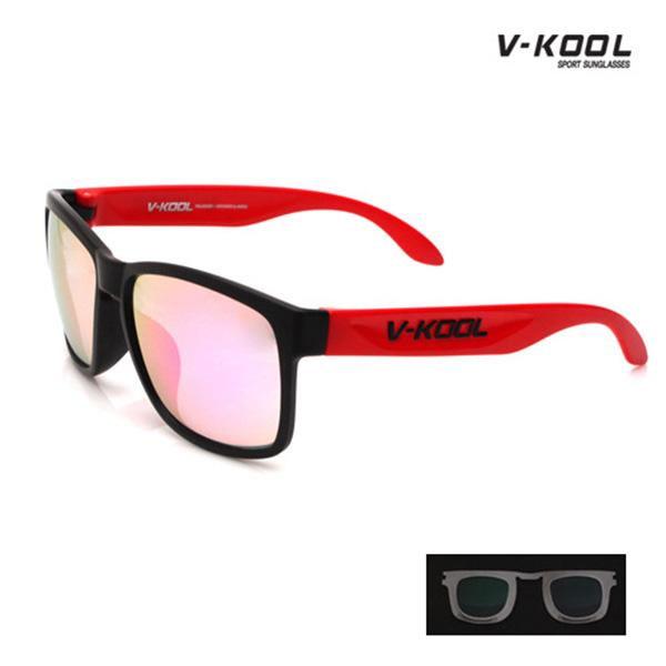 V-KOOL-VK-1997-블랙스카이핑크 레드/선글라스/편광
