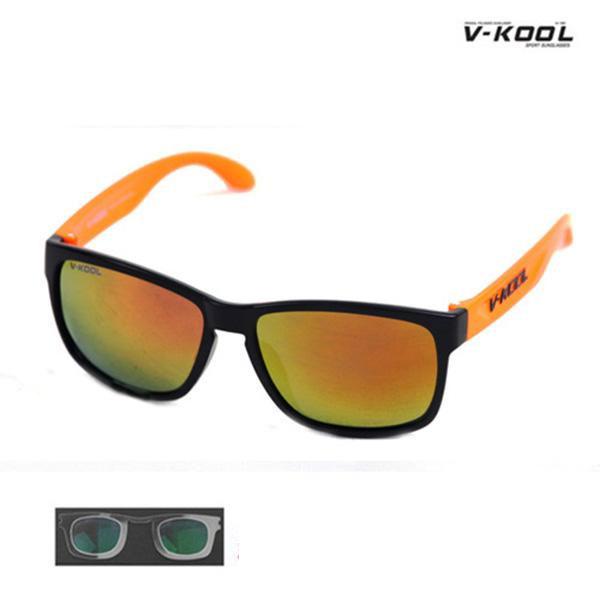 V-KOOL-VK-1997-블랙오렌지/선글라스/편광/도수클립