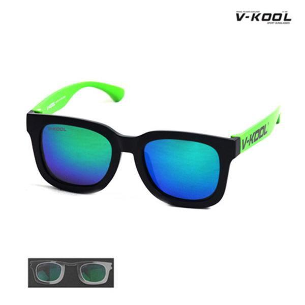 V-KOOL VK-1998-블랙그린/선글라스/편광안경/도수클립