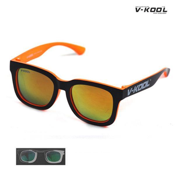 V-KOOL VK-1998-블랙오렌지/선글라스/편광/도수클립