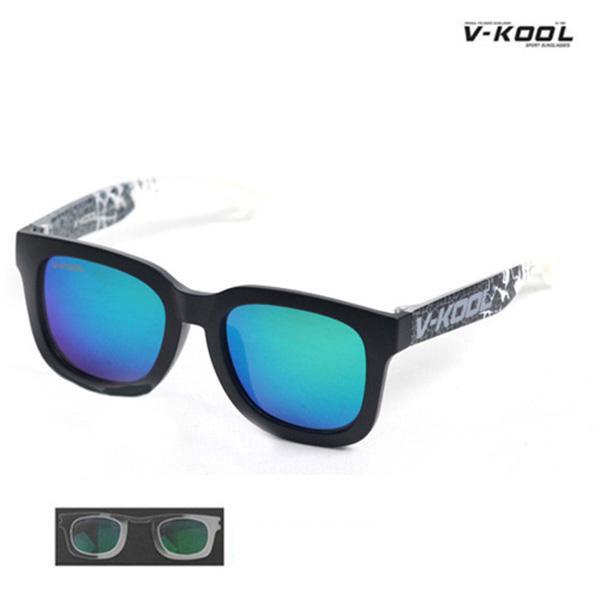 V-KOOL VK-1998-블랙프린트/선글라스/편광/도수클립