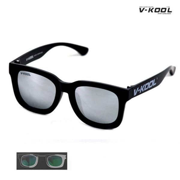 V-KOOL VK-1998-블랙실버/선글라스/편광안경/도수클립